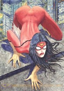 Spider Woman di Milo Manara